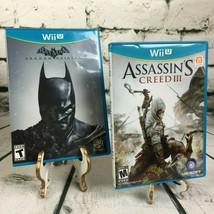Batman Arkham Origins & Assassin's Creed III 2 Game Bundle - Complete & ... - $14.25