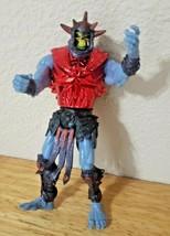MOTU Masters of the Universe SKELETOR action figure lot Mattel 2001 RED ... - $9.90