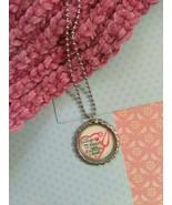 Nurse/Doctor Quote Bottle Cap Necklace - $3.60
