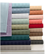 Damask Stripe King 4-pc Sheet Set, 500 Thread Count 100% Pima Cotton - $89.09