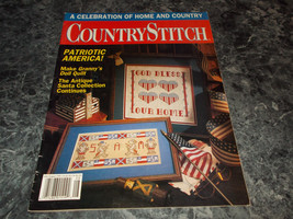 Country Stitch Magazine July/August 1991 Doll Quilt - $2.99