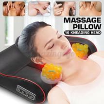 Back&Shoulder Shiatsu Massager Electric Massage Pillow Cushion with Heating - $44.48
