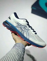 Asics Men's Gel-Kayano 25 White/Blue Running Shoe - $270.00