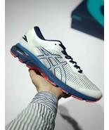 Asics Men's Gel-Kayano 25 White/Blue Running Shoe - $270.00