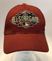 New Era Arizona Diambondbacks Maroon 2011 All Star Game Baseball Hat Adj... - $14.69