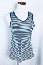 Tommy Hilfiger Sleeveless Women's Tank Top Striped Stretch Size M EC - $8.90
