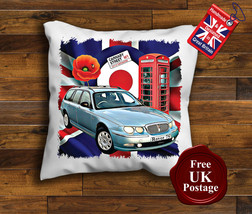 Rover 75 Cushion Cover, Rover 75, Union Jack, Mod Target, Poppy, - $9.01+