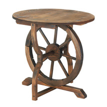 PRICE REDUCED!!!  Wagon Wheel End Table, Side T... - $89.95
