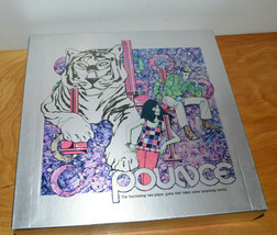 Vintage Pounce Board Game 1972 Complete Mod Art Tiger Family Game Night - $15.86