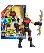 Year 2013 Marvel Super Hero Mashers Series 6 Inch Figure - HAWKEYE with Bow - $44.99