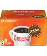 Dunkin Donuts Original Blend (72 K-Cups) - $33.28