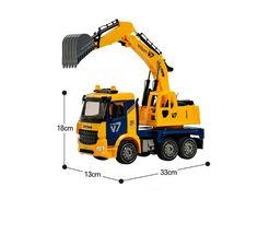 Yoowon Toys Titan Excavator Truck Sound Lights Vehicle Heavy Equipment Toy Car image 4