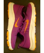 Nike 776089-500 Bermuda FI Purple Orange Womens Golf Shoes - $32.00