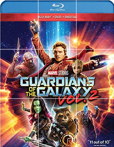 Guardians of the Galaxy 2 [Blu-ray+DVD+Digital]