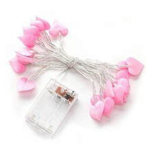Romantic Feeling Heart Shaped String Led Battery Operated Party Lovely W... - $14.99
