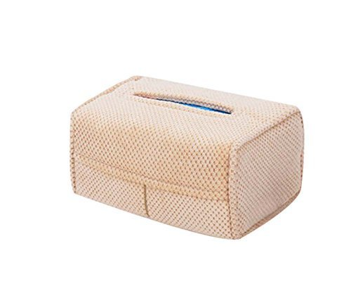Car Tissue Box Hanging Type Car Paper Box Auto Supplies Hanging Tissue Box,Beige