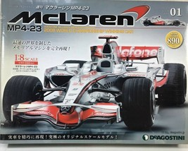 DEAGOSTINI 1/8 McLaren Honda MP4-23 No.1-65 Full Kit Kyosho New! - $1,257.29
