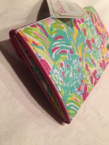 3d9c293350 ... Lilly PULITZER SUNGLASS CASE  Spot Ya  collapsible NWT ...