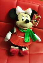 Disney Just Play~ Minnie Mouse Christmas Plush-Sings and Dances - $30.93