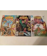 TEEN TITANS: #28 TERRA + #29 AND #30 SIGNED BY GEORGE PEREZ - FREE SHIPPING - $46.74