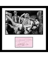 Ultra Rare - John Wayne & Maureen O'Hara - Authentic Hand Signed Autographs - $249.99