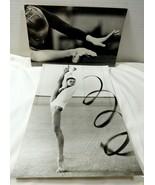 VTG USSR Russian Gymnastics black & white press photo 1970's - $34.65