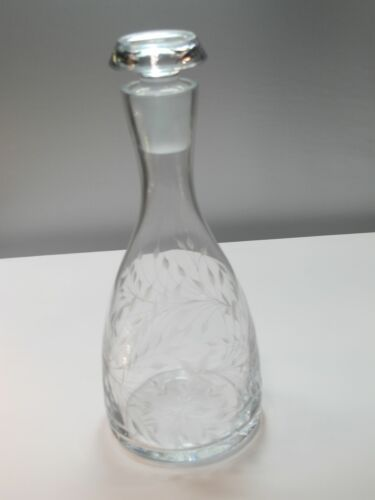 Primary image for Lenox Cut glass Crystal decanter Made in USA