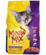 Meow Mix Cat Food, Original Choice, 6.3 lb - $24.50