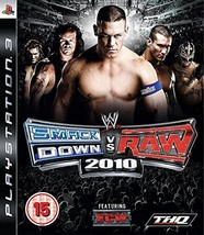 WWE SmackDown vs. Raw 2010 - Playstation 3 [video game] - $11.86