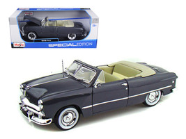 1949 Ford Convertible Gray 1/18 Diecast Model Car by Maisto - $39.99