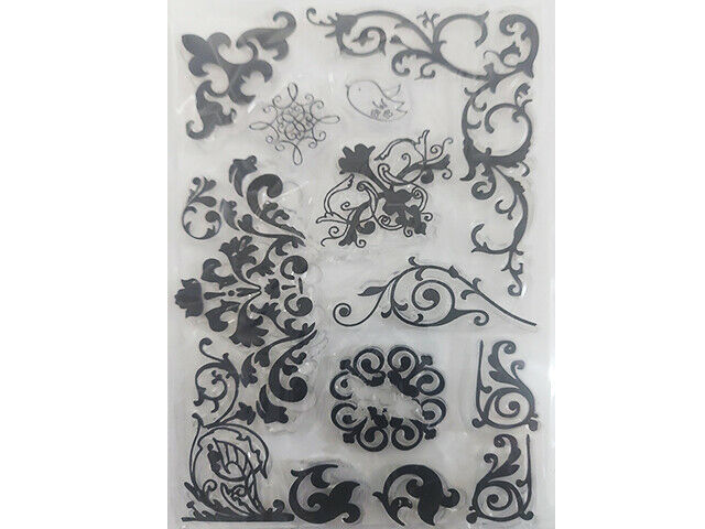 Flourishes Clear Stamp Set