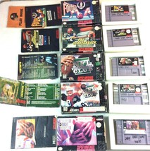 SNES Game Lot NFL Quarterback Club Monday Night Football Super Play Acti... - $34.64
