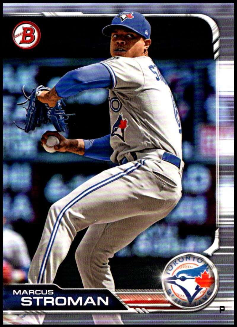 Primary image for 2019 Bowman #40 Marcus Stroman NM-MT Toronto Blue Jays  Officially Licensed MLB