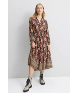 NWT ANTHROPOLOGIE CINDY PLEATED MAXI DRESS by OTHILIA M - $129.99