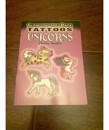 UNICORN  STICKERS  & TATTOOS BOOKS LOT OF 4 EASTER BASKET FILLER - $24.75