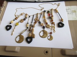 Necklace , Eclectic , Unique , Vintage , Retro ,  1970s , New / Old Inve... - $24.66