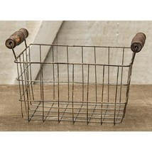 Rusty Wire Rectangle Basket, 7x5.25 - $33.59