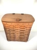"""Longaberger Large 12""""x12""""x8"""" Mail Basket Made In USA - $69.29"""