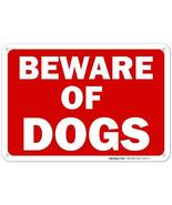 Beware of Dog Sign, 10x7 Rust Free Aluminum, Weather/Fade Resistant, Eas... - $12.73