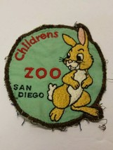 The San Diego Zoo Childrens Petting Zoo Vintage Rabbit Employee Patch - $24.13