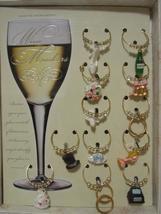 Wedding wine charm set thumb200