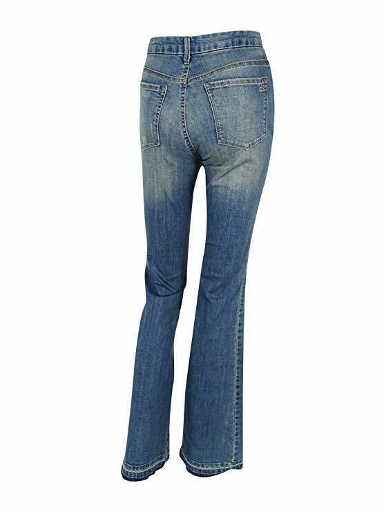 Jessica Simpson Women's Uptown Slim Flare Jeans, Juniper, 25