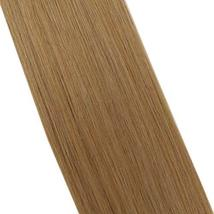 Moresoo 24 Inch Glue in Human Hair Extensions Tape in Human Hair Color Brown Ski image 8