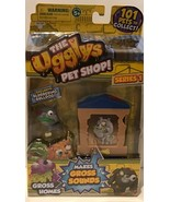 The Ugglys Pet Shop Gross Homes Series 1 Exclusive BLUBBERING BULLDOG - ... - $12.94