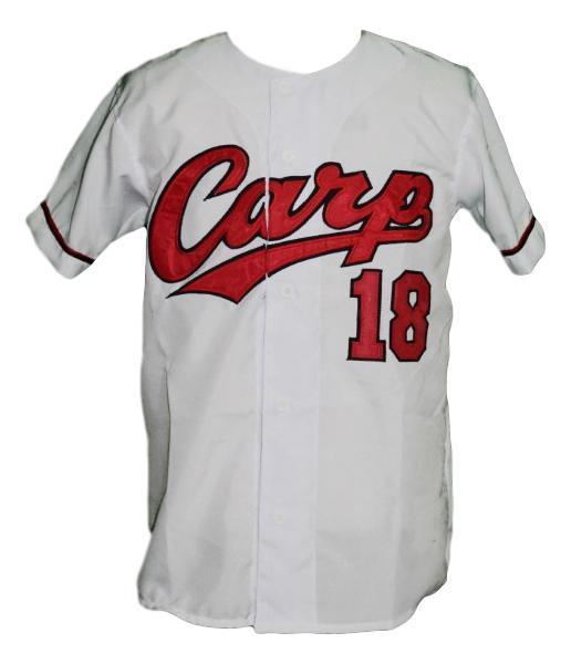 Kenta maeda  18 hiroshima carp baseball jersey white  1