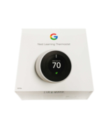 Nest T3017US 3rd Generation Learning Thermostat Easy Temperature Control... - $228.95