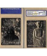 """STAR WARS """"PRINCESS LEIA & DARTH VADER"""" GEM-MT 10 """"23 KT GOLD CARD! 1/10... - $14.69"""