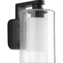 "Progress Lighting P6038-31 1 LT Wall Lantern with Etched Opal Glass, 6"" - $78.92"