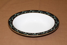"Franciscan MENAGERIE Black with Green Ivy Oval Serving Bowl 10 1/2"" - $39.99"