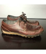 """DR Scholl's Men """"Go Play"""" Sz 9 M, Leather Brown Outback Casual Comfort S... - $21.78"""